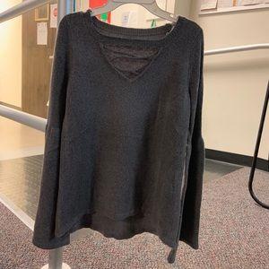 American Eagle Women's criss cross sweater